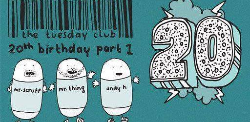 Mr.Scruff, Mr.Thing & Andy H – TTC 20th Birthday Part 1